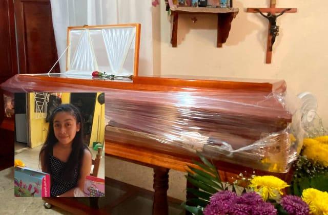 'Itzel quería ser contadora'; velan sus restos en Nanchital