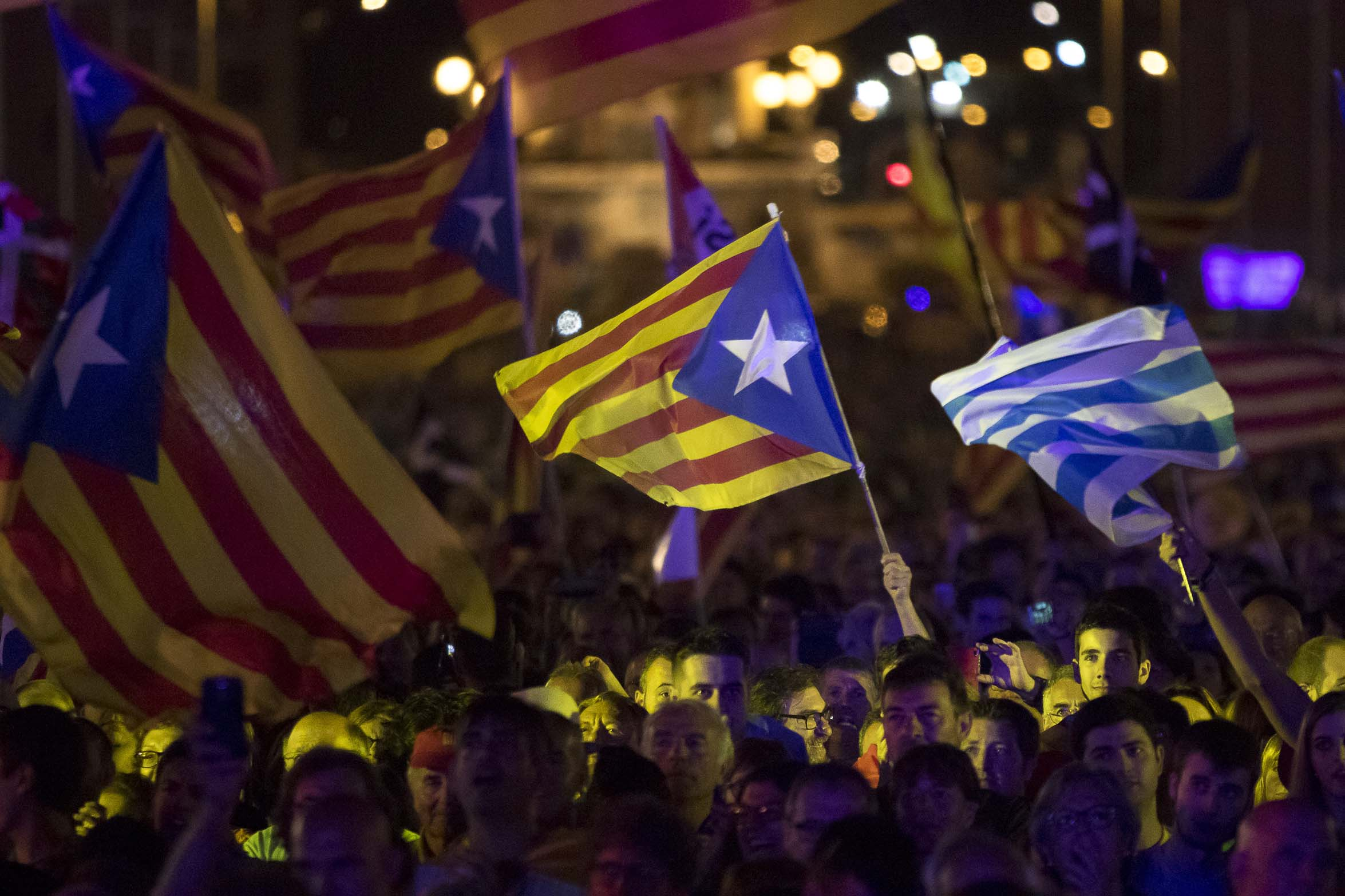 Dicen sí a la independencia 90% de votantes catalanes