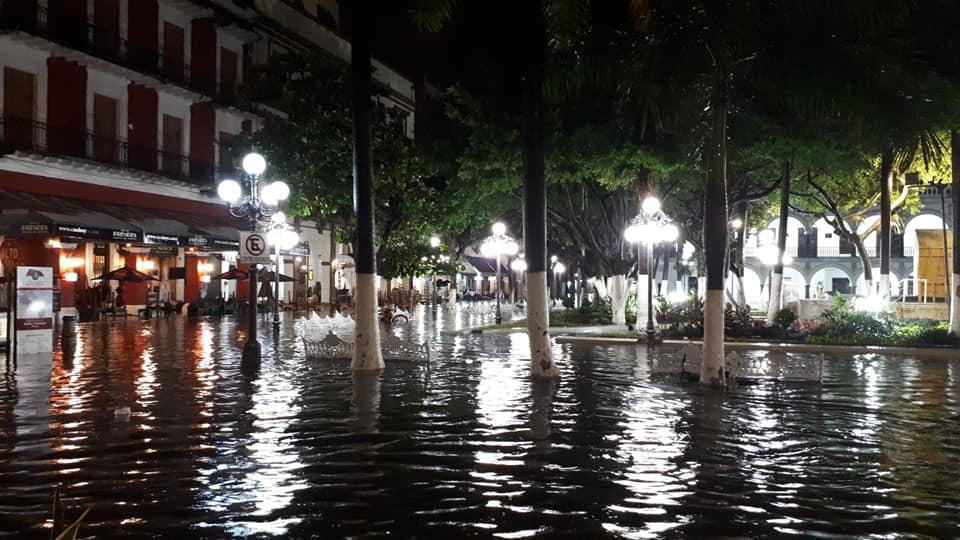Lluvias dejan inundaciones severas en Veracruz