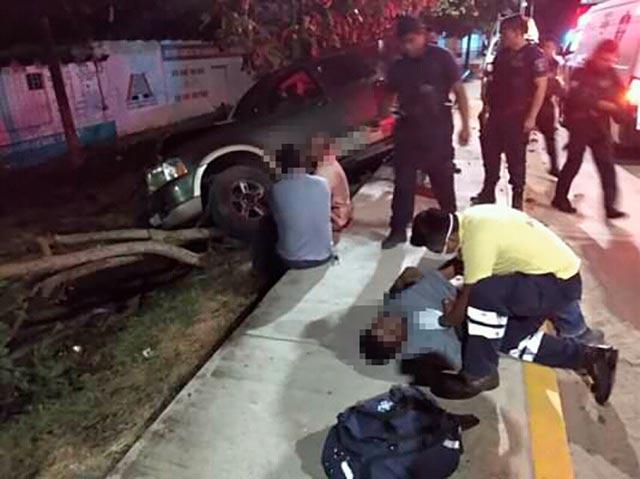 Suplente de alcalde de Ixhuatlán del Sureste fue detenido por robo en Acayucan