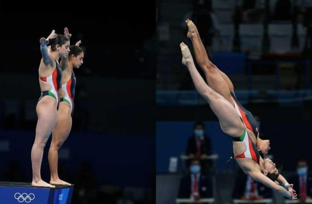 Clavadistas Gaby y Ale dan segunda medalla a México en Tokio 2020