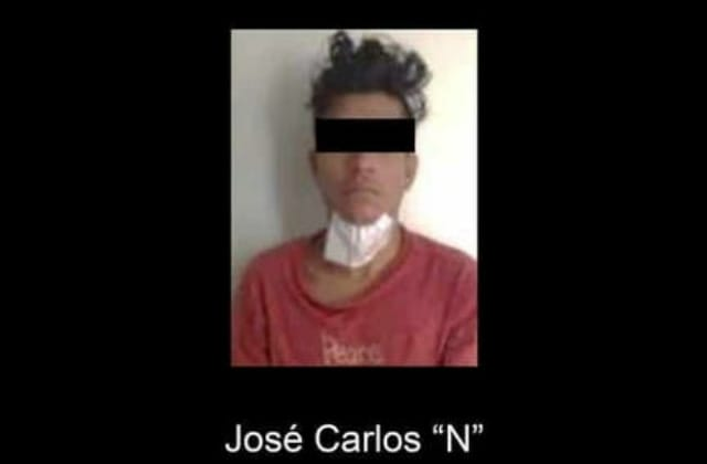 Detienen a presunto 'roballantas' en Veracruz