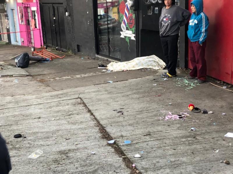Conductora arrolla y mata a comerciante, en Xalapa
