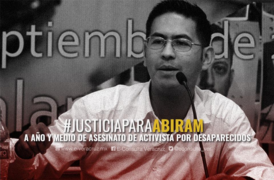 Detienen a presunto asesino de activista Abiram Hernández