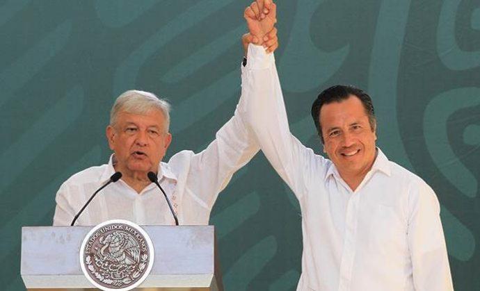 Gobierno de AMLO niega versiones de remover a Cuitláhuac