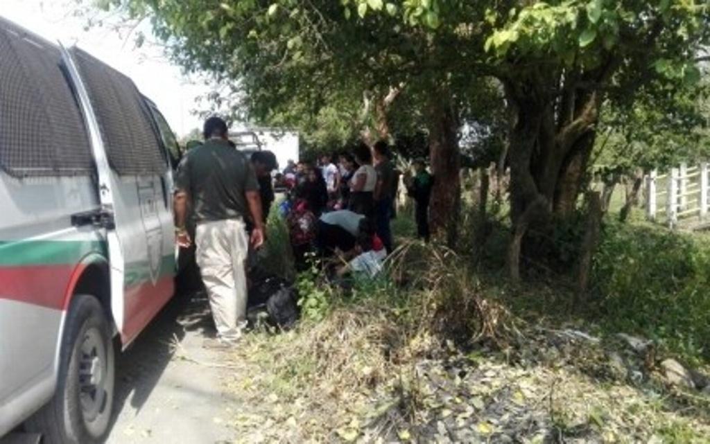 Encuentran a 35 migrantes dentro de contenedor en Medellín