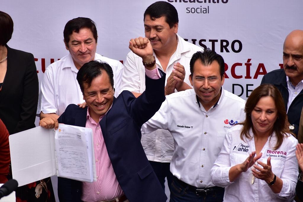 A los Yunes y Herrera, les enseñaré a administrar Veracruz: Cuitláhuac