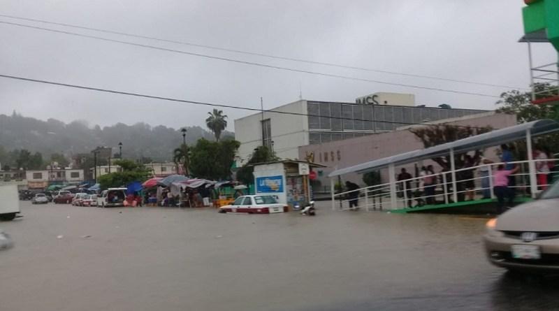 Lluvias por frente frío 43 provocan daños en la zona norte de Veracruz