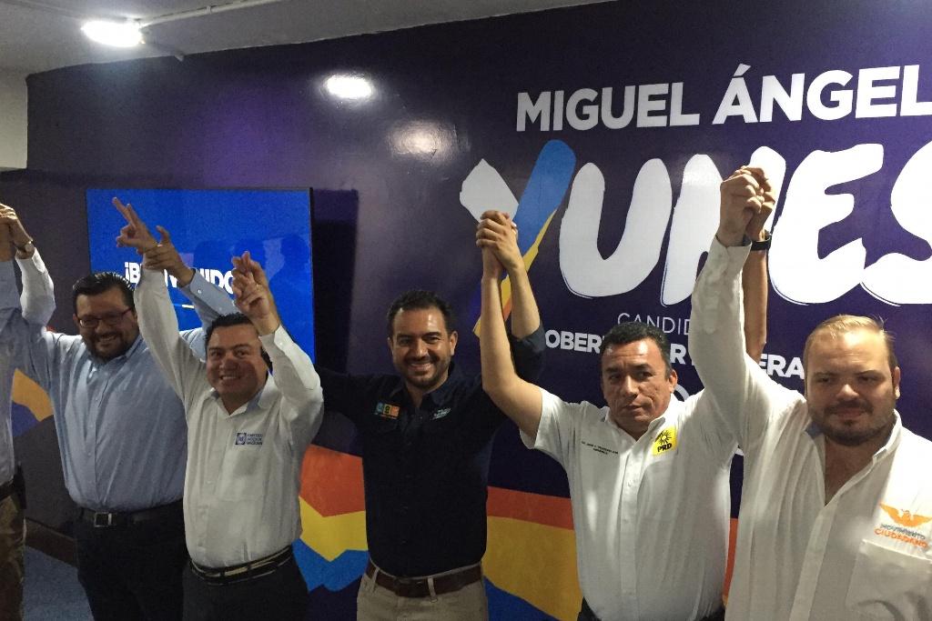 No entraré en dimes y diretes: Miguel Ángel Yunes Márquez