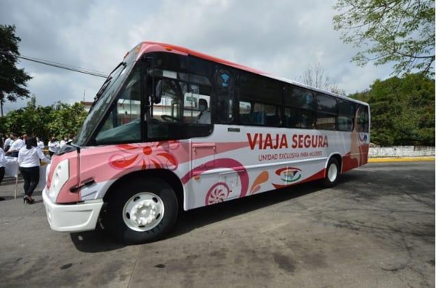 ¿Cómo funcionará el camión Mujer Segura en Xalapa?