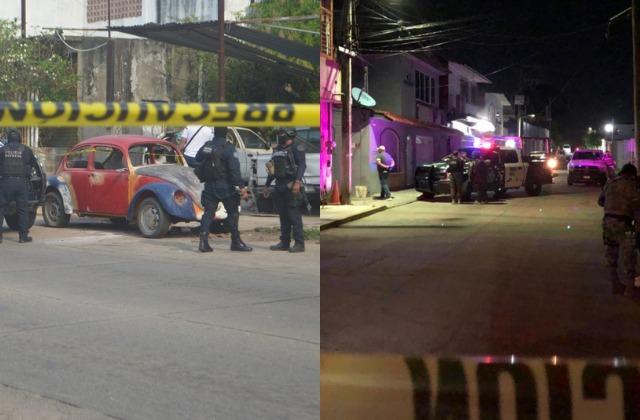 Dos asesinatos al sur de Veracruz, en menos de doce horas