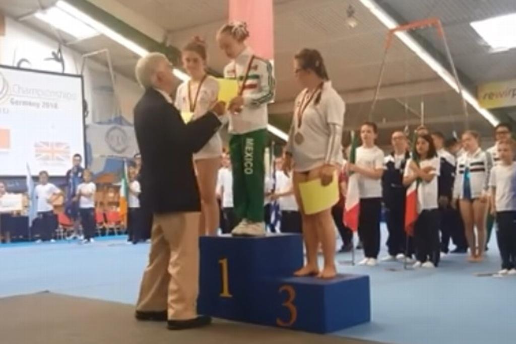 Veracruzana gana campeonato internacional de Gimnasia con Síndrome de Down