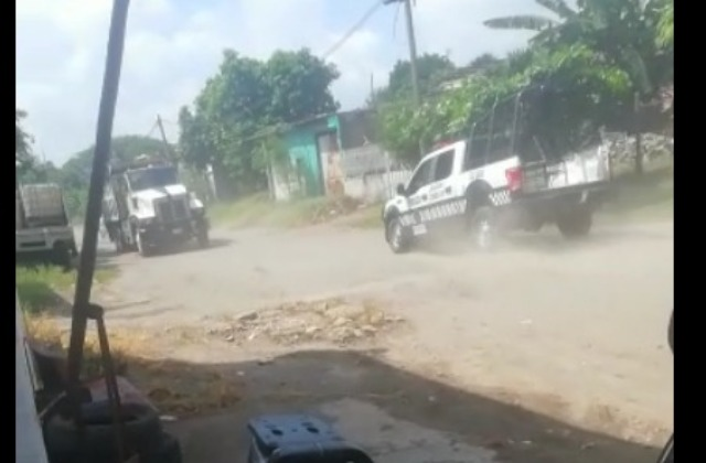 Reportan enfrentamiento armado y persecución en el Puerto