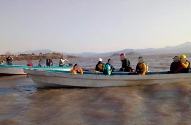 Carlos, originario de Veracruz, murió ahogado en Lago de Pátzcuaro