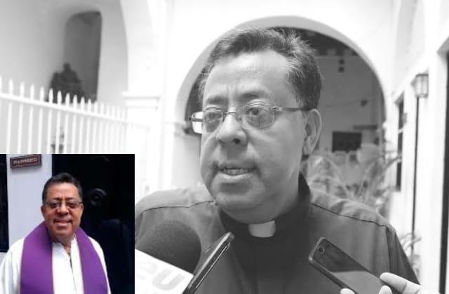 Fallece por covid padre Víctor Díaz, vocero de la diócesis de Veracruz