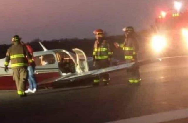 Avioneta sufre accidente en aeropuerto de Veracruz