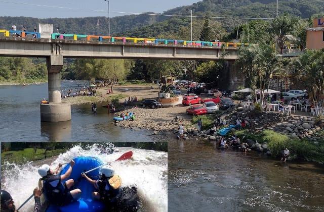 ¿De visita al río? Jalcomulco tendrá restricciones en Semana Santa