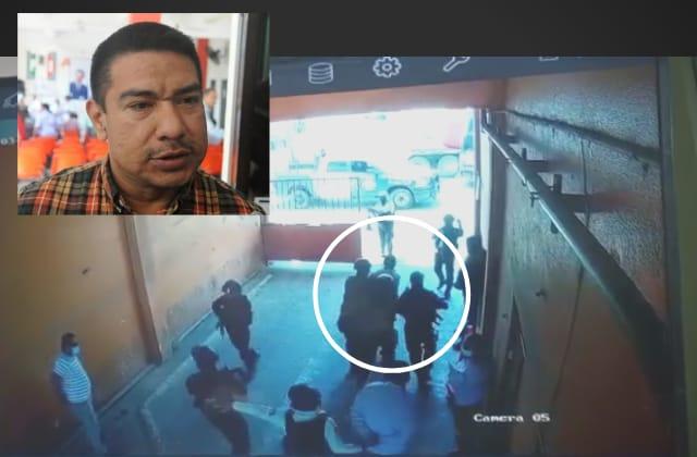 Detiene Fuerza Civil a líder transportista Ramón Ortíz, en Coatza