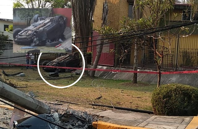 Pierde la vida tras volcar su camioneta, en Fortín