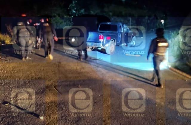 """Confirman emboscada y """"levantón"""" de 10 personas en Acultzingo"""