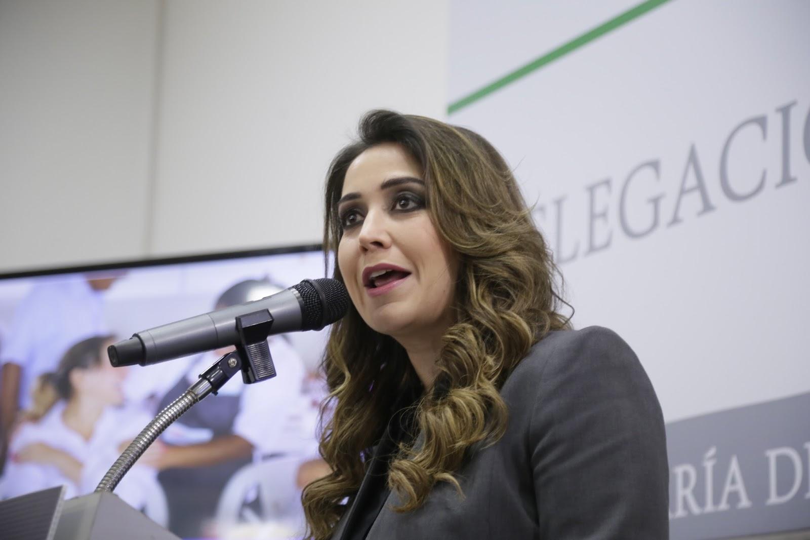 Anilú Ingram será vicecoordinadora del Grupo Parlamentario del PRI
