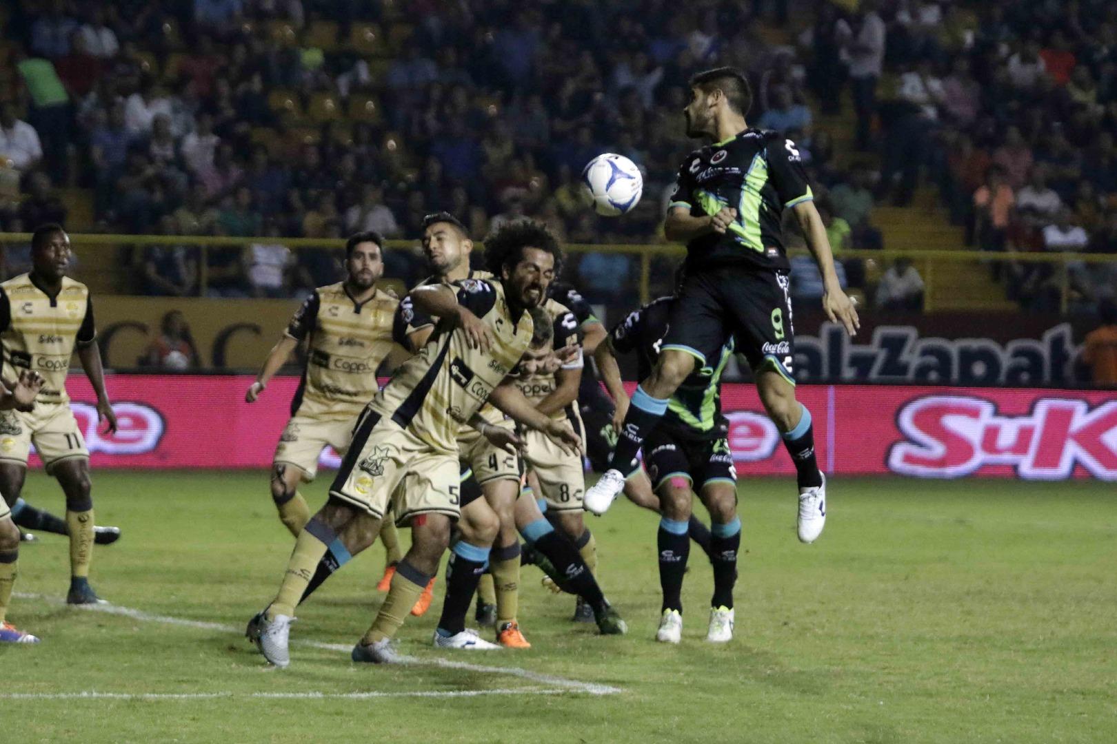 Tiburones Rojos empatan sin goles frente al Dorados