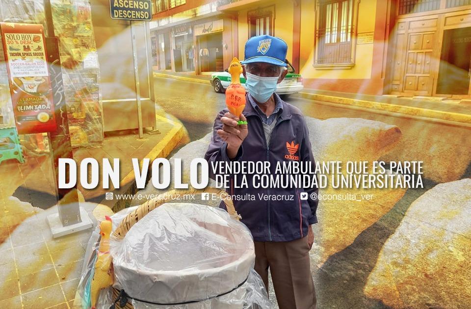 Ante ventas bajas, estudiantes UV promueven a 'Don Volo'