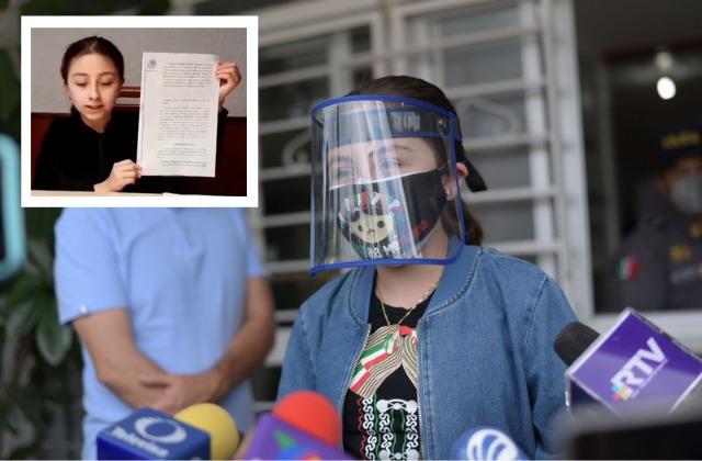 """""""Al fin se logró"""": Zulma, niña xalapeña vacunada contra covid"""