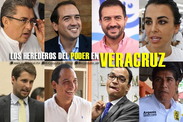 Los Junior de la Política, hijos que pretenden heredar el poder en Veracruz