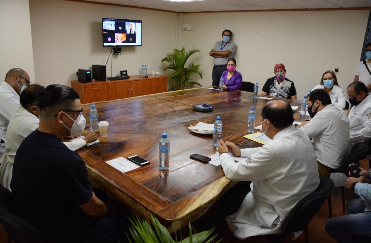 Abastecen Hospital de Veracruz con medicamentos oncológicos