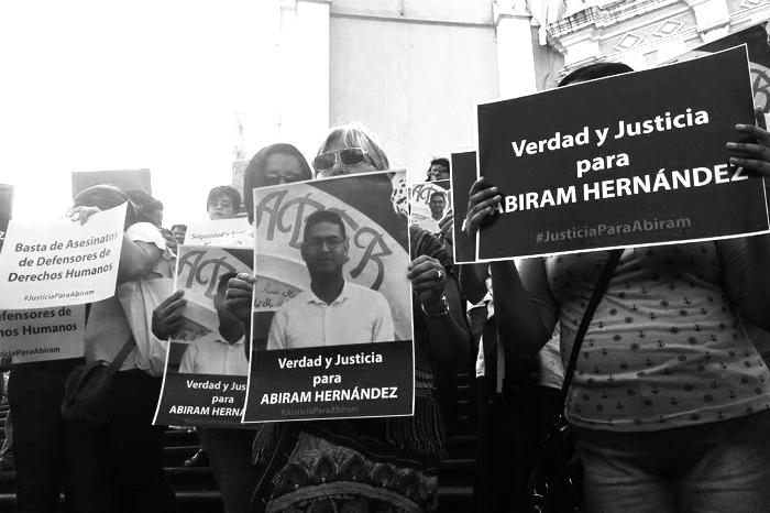 Debe incluirse en investigación el trabajo como defensor de Abiram Hernández: ONU-DH