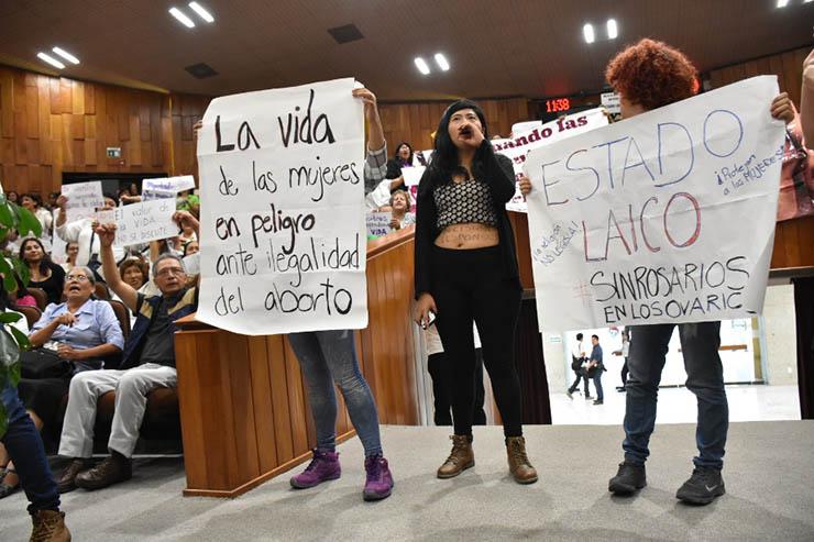 Congreso presenta recurso de revisión ante SCJN sobre aborto