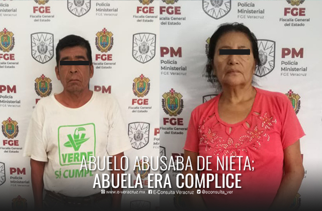 Hombre fue detenido por abusar de su nieta, en Tempoal