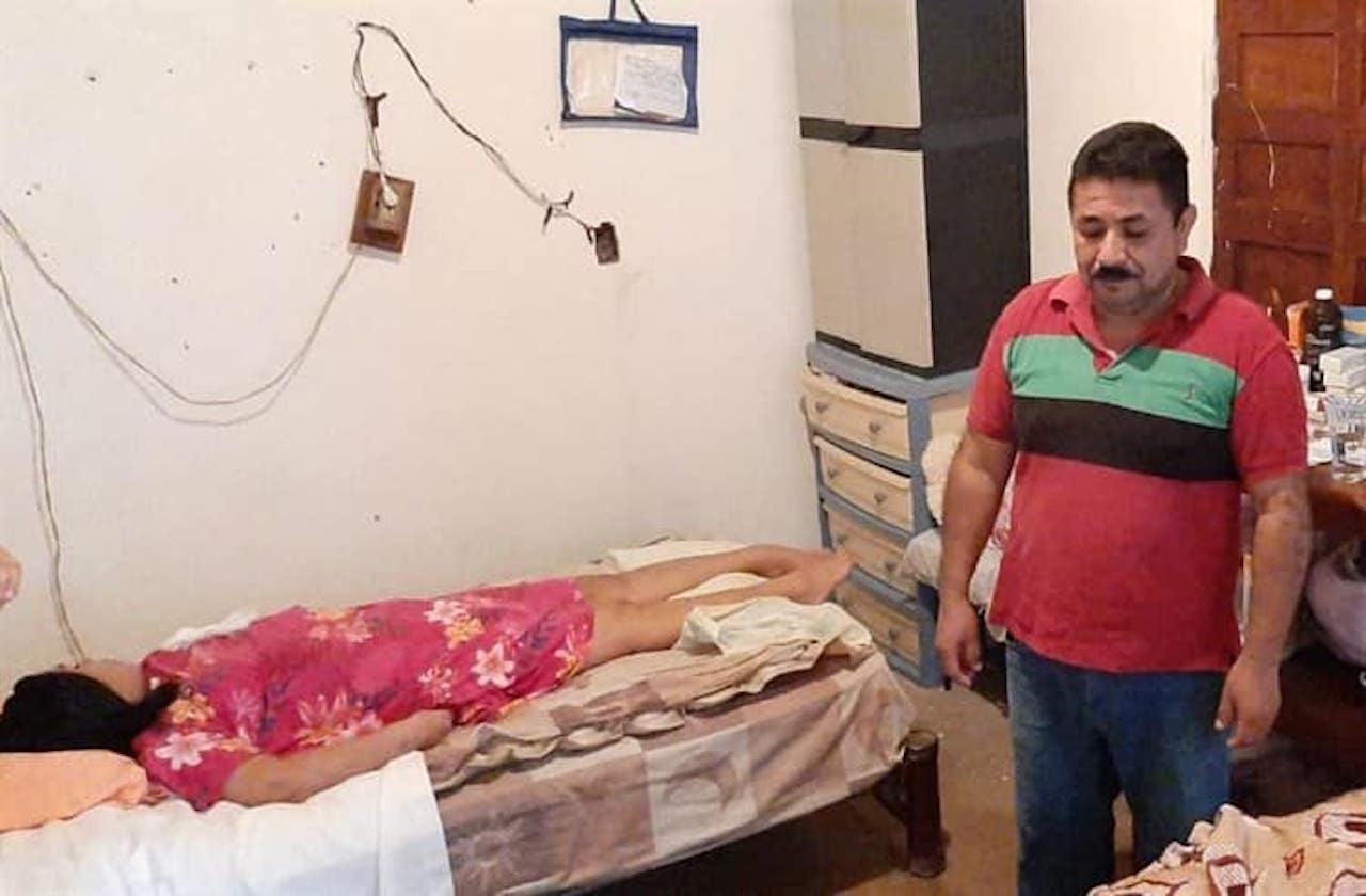 Accidente dejó a Ángeles sin moverse; piden ayuda para su cirugía