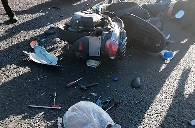 Accidente entre motociclistas deja un saldo de 3 heridos, en Córdoba
