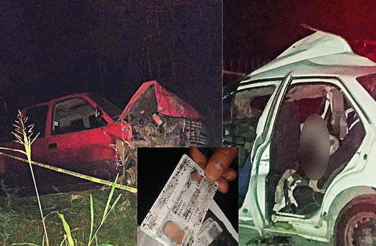 Accidente provocó muerte de Elver; responsable huyó