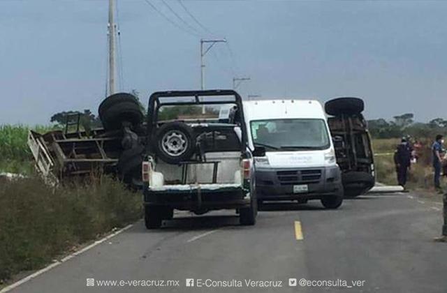 Accidente vehicular en Camarón de Tejeda deja un saldo de 3 muertos