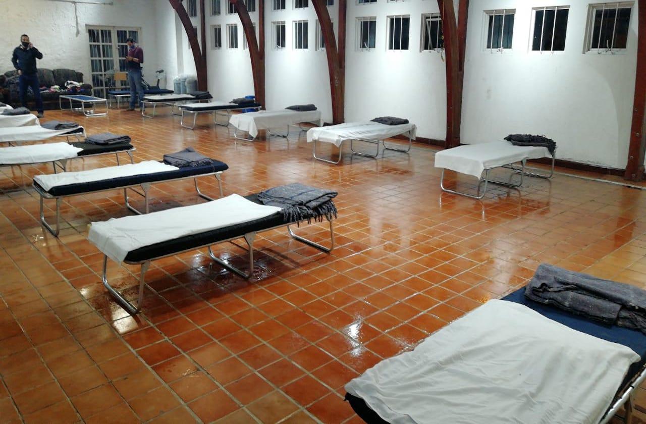 Activan albergues en Xalapa ante bajas temperaturas del FF#26