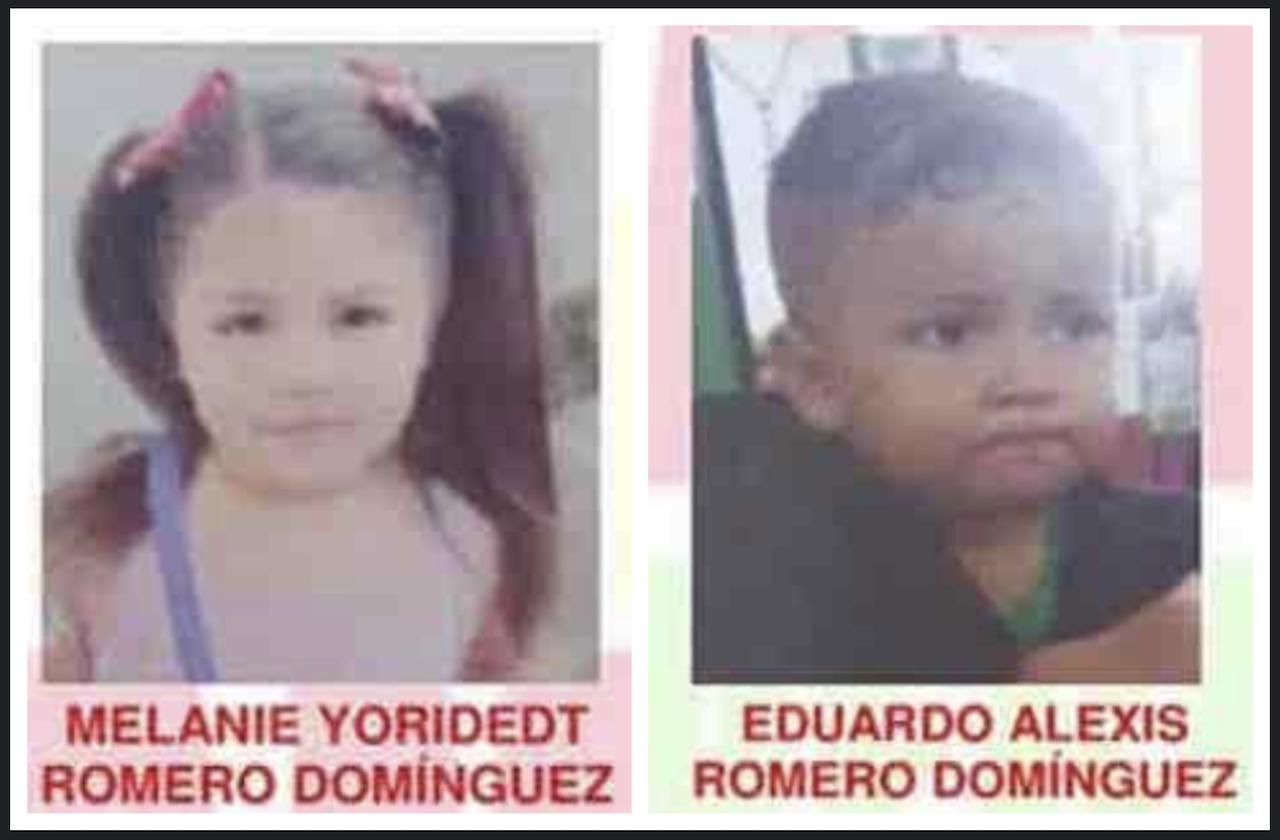 Activan Alerta Amber tras desaparición de 2 niños, en Veracruz