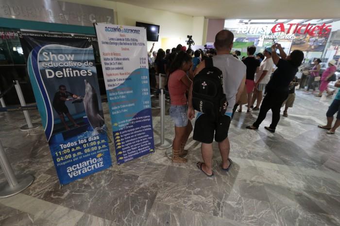Intentan robar en el Acuario de Veracruz, se mantiene cerrado
