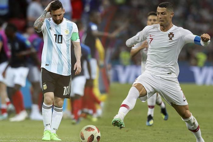 Ronaldo y Messi se despiden de Rusia, Uruguay y Francia van a cuartos