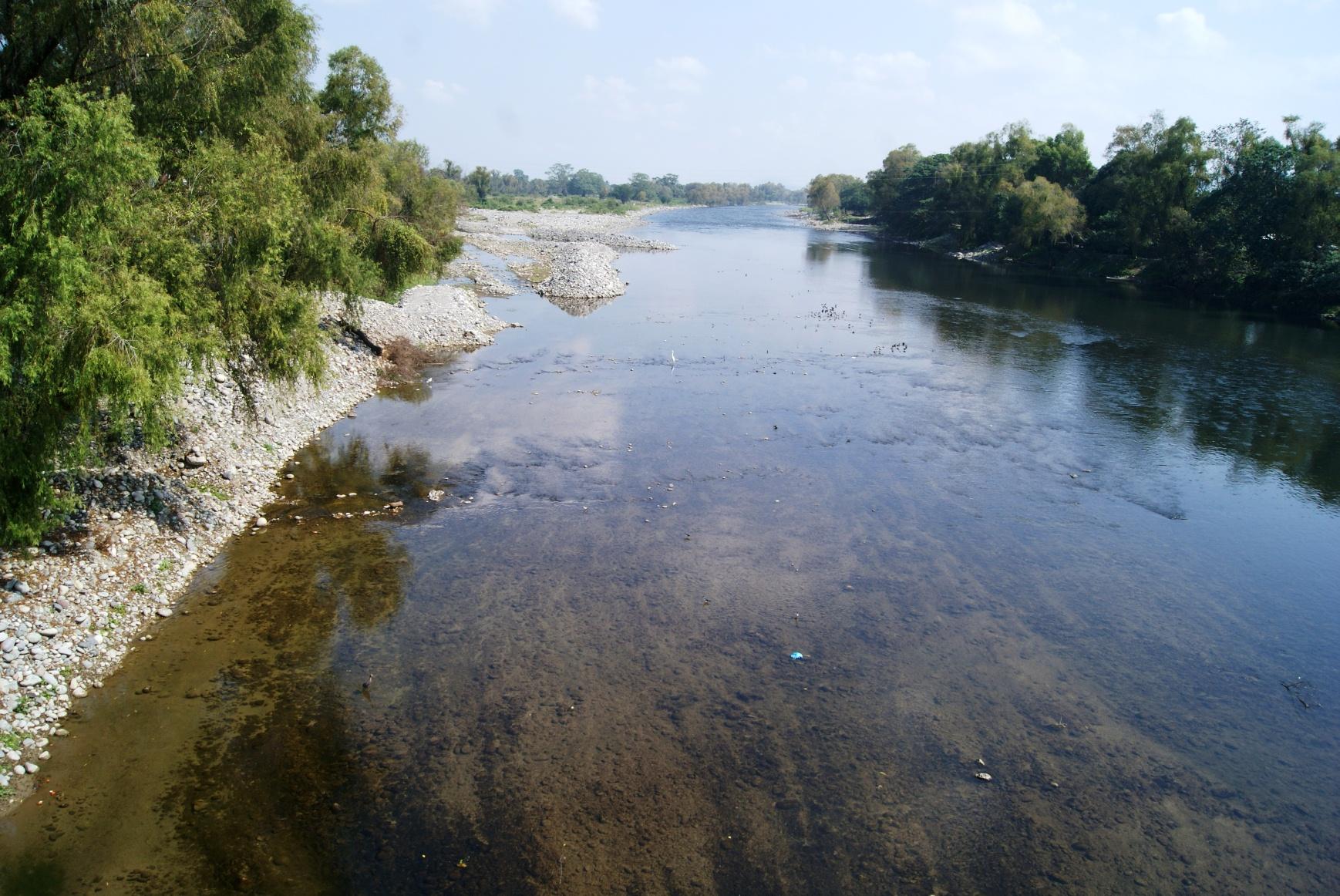 Se extinguen especies del río Bobos por contaminación