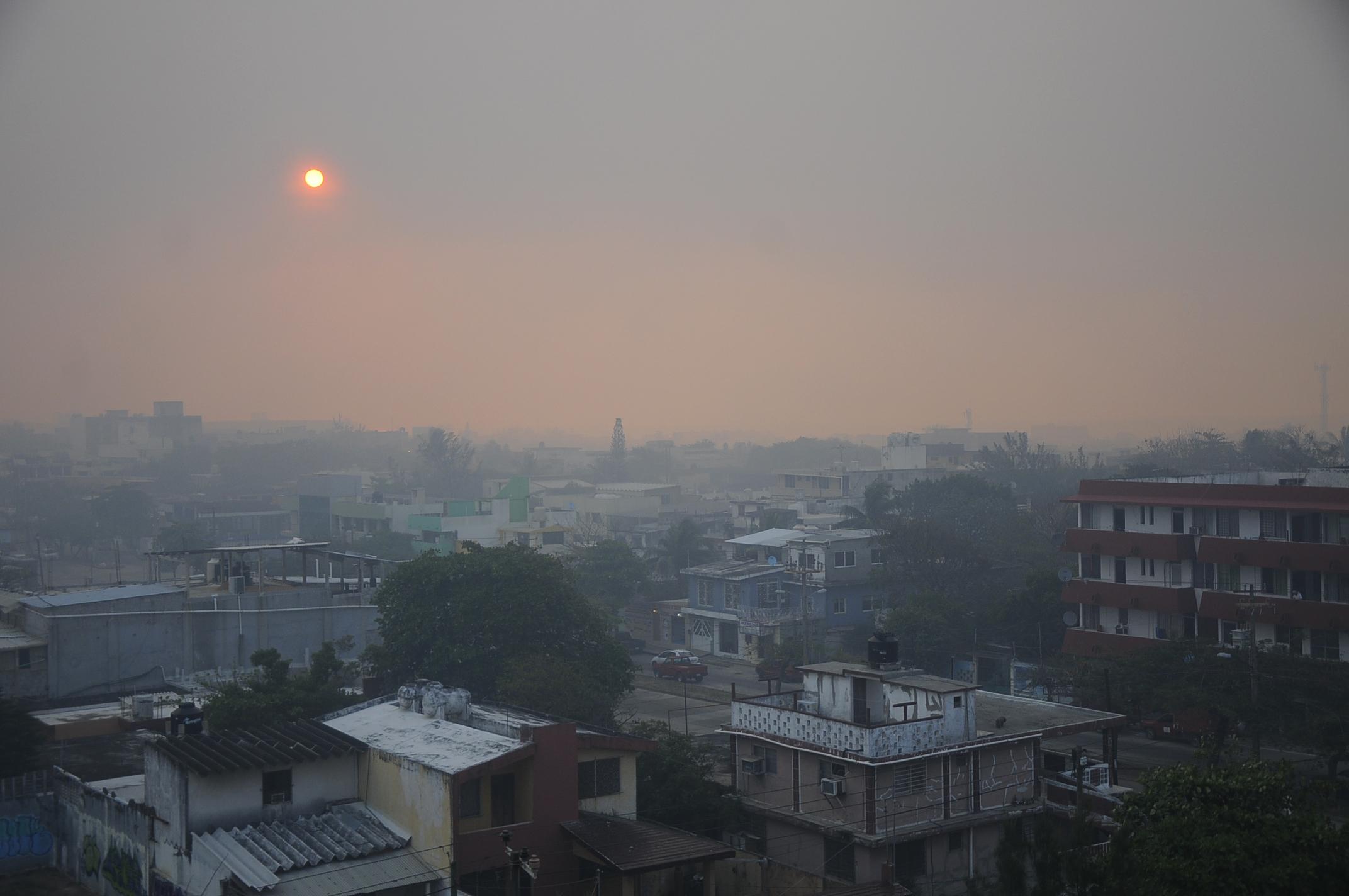 En deterioro calidad del aire en Xalapa y Minatitlán