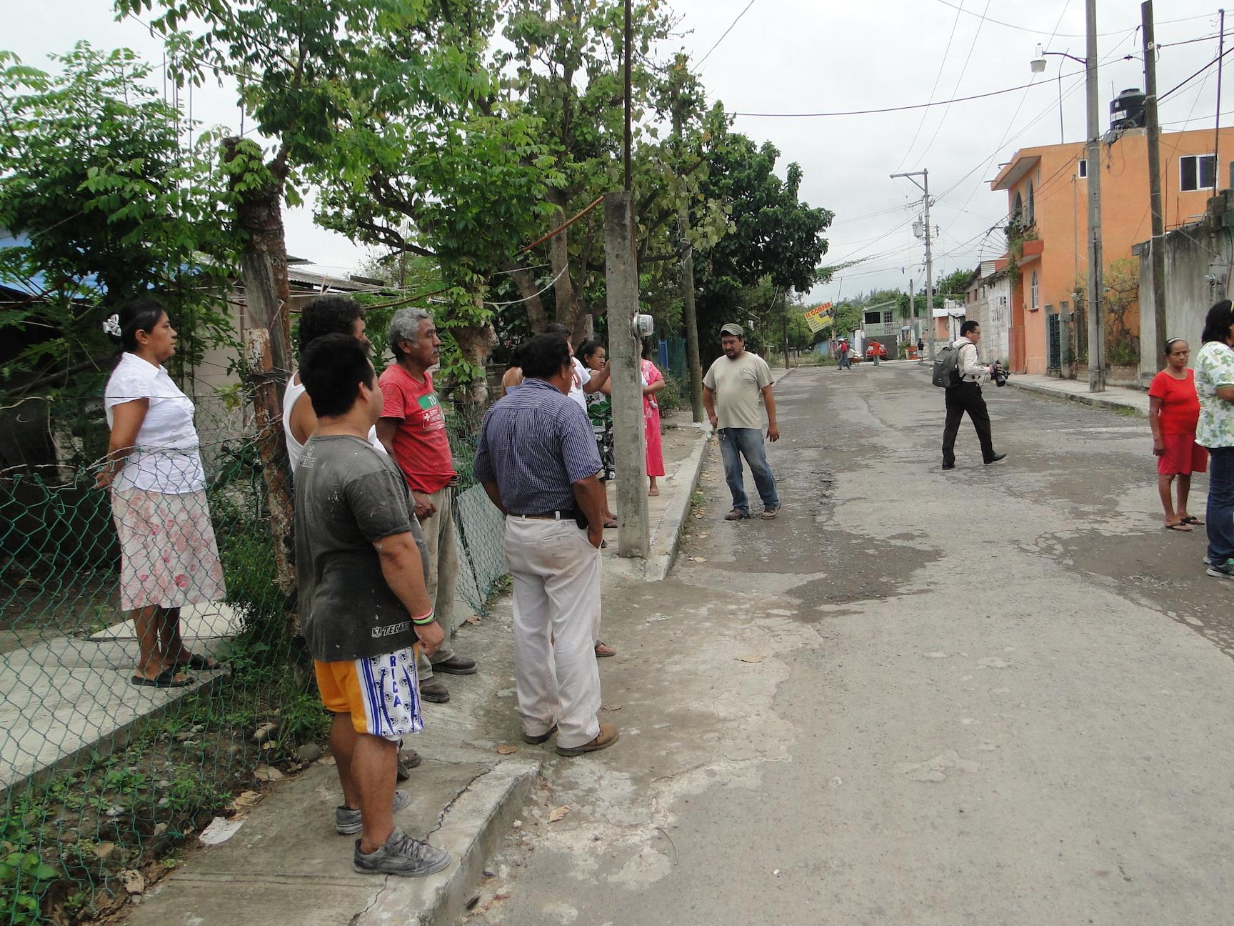 Pemex quiere desalojar a familias en colonia ampliación Santa Elena en Poza Rica