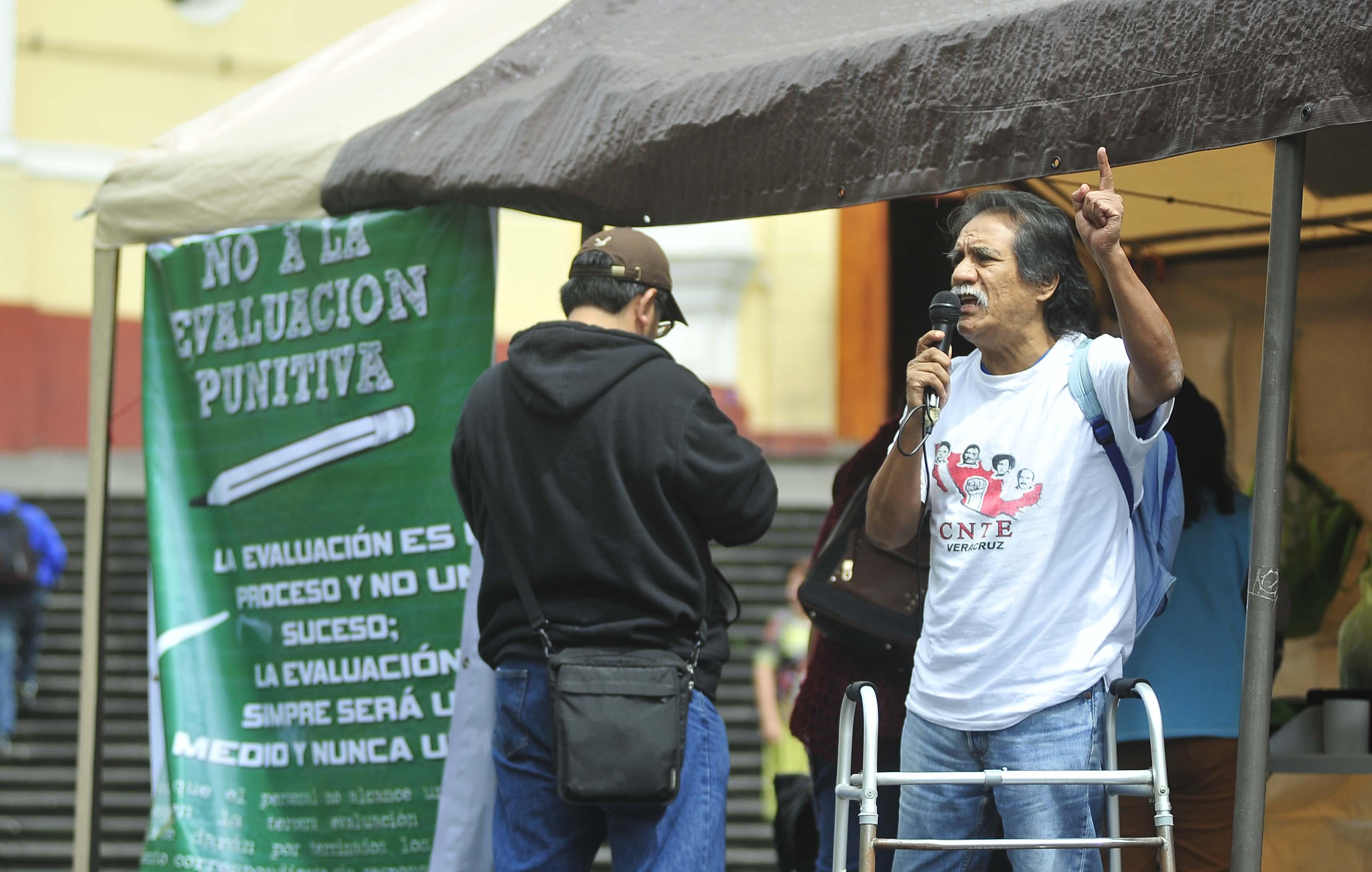 CNTE llama a no presentarse al examen de septiembre
