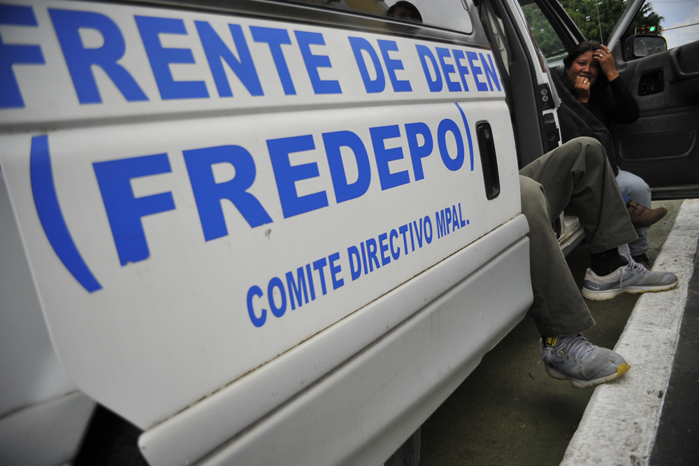 """Por eso los mandan a matar"": miembros de Fredepo a periodistas"