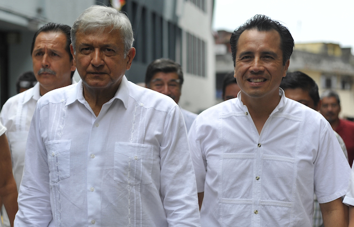 Confirma Cuitláhuac regreso de AMLO al estado de Veracruz