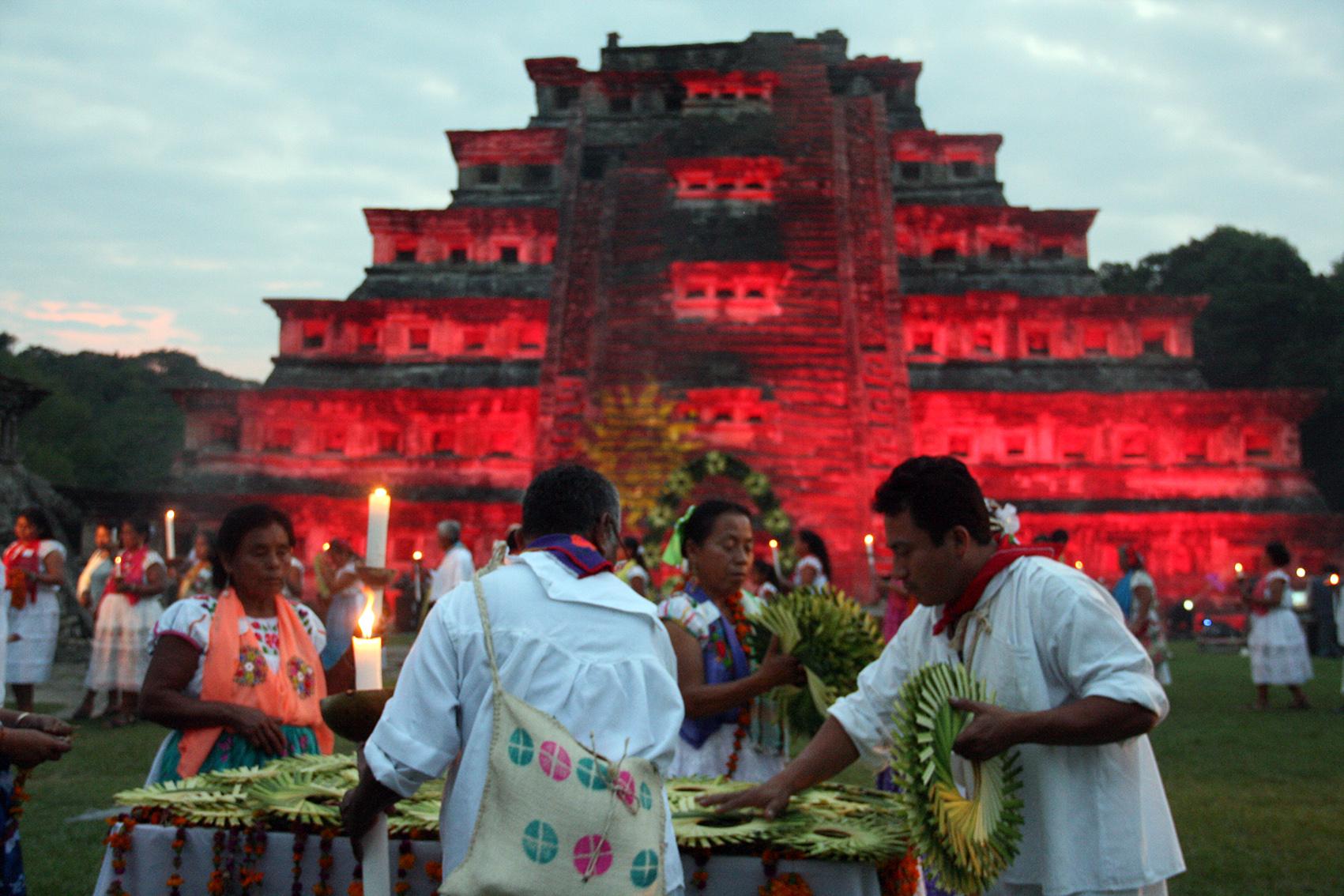 Prevén baja en asistencia de turistas a la Cumbre Tajín
