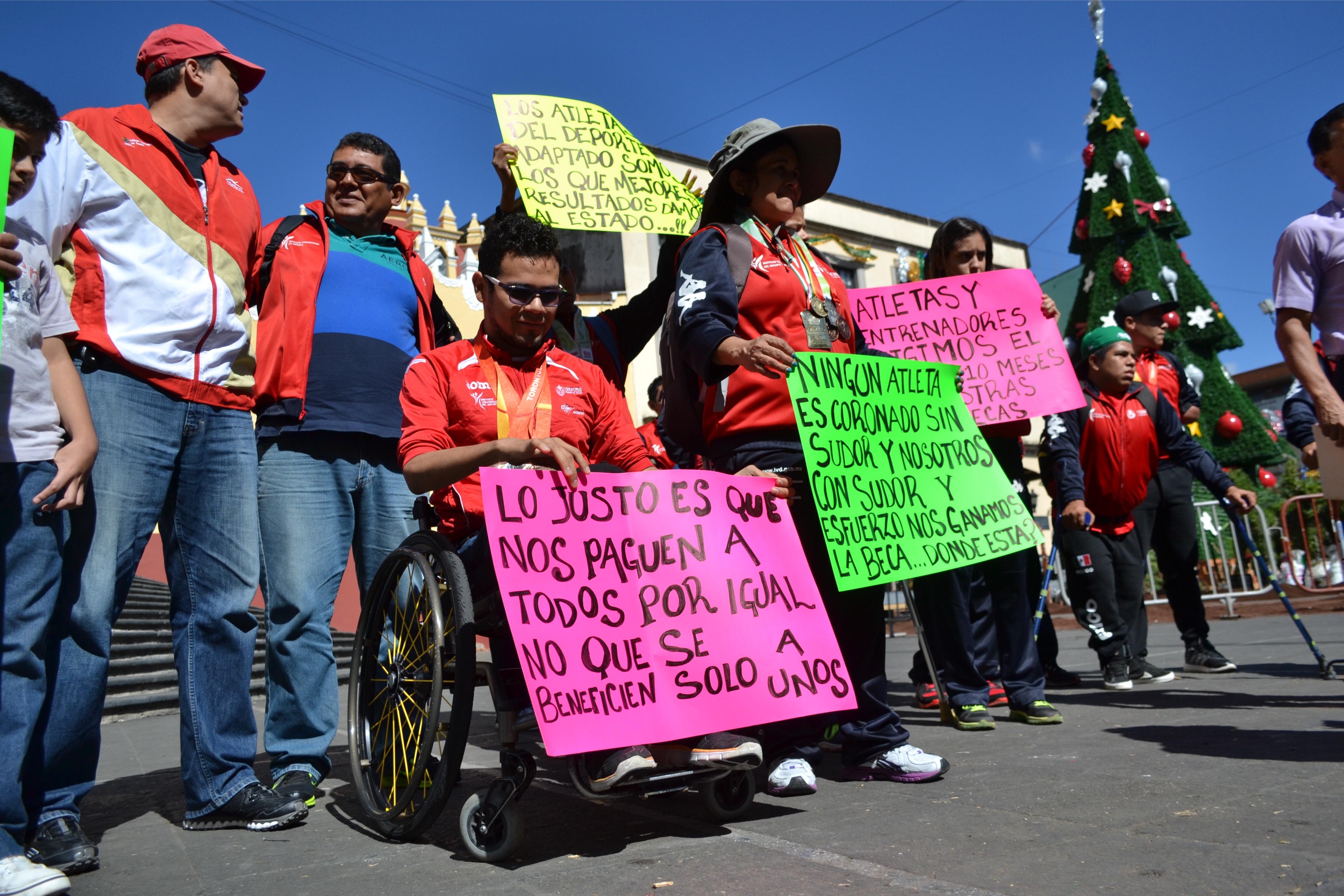 Duarte adeuda 10 meses de becas a deportistas discapacitados