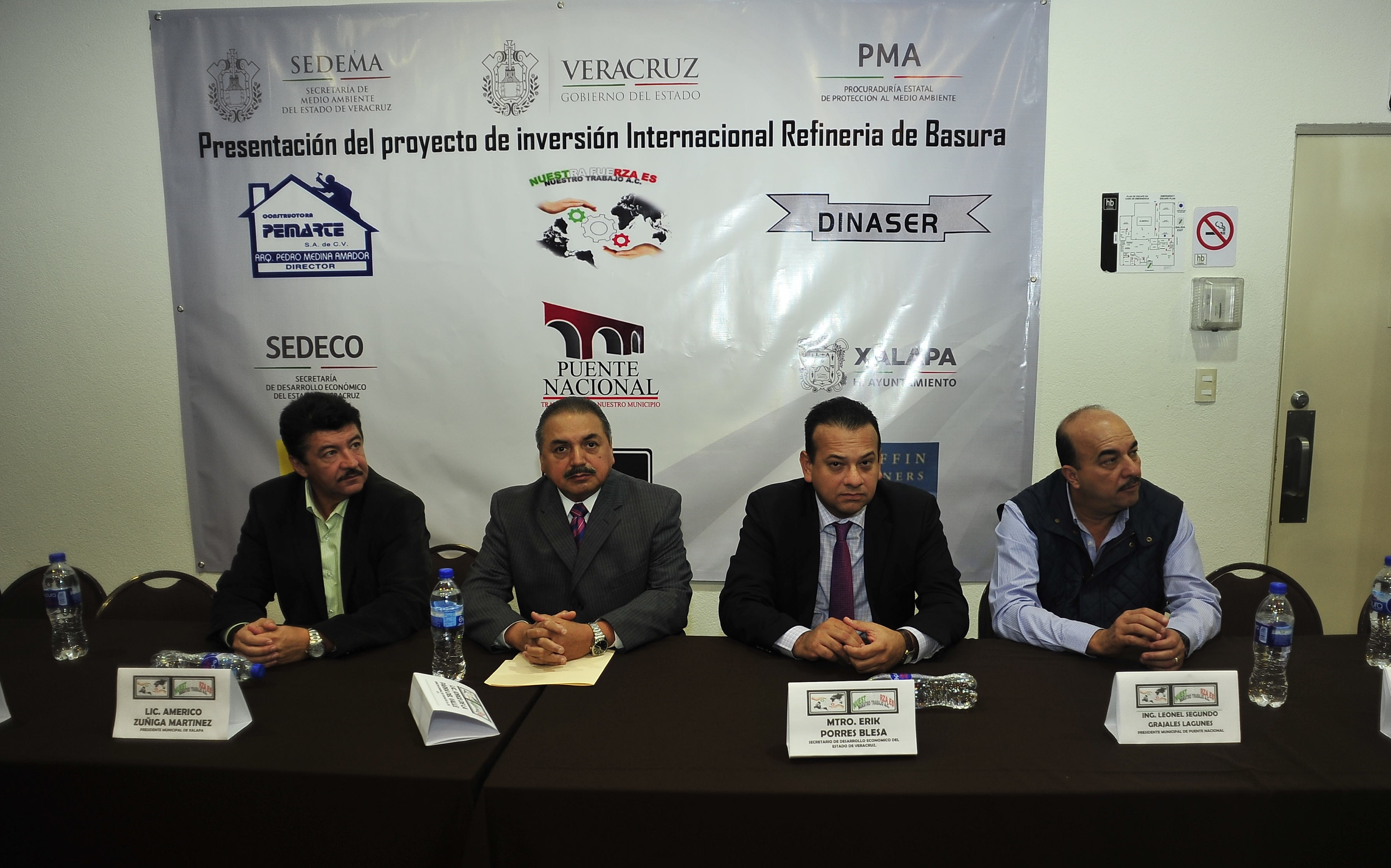 Construirán planta de procesamiento de basura en Puente Nacional